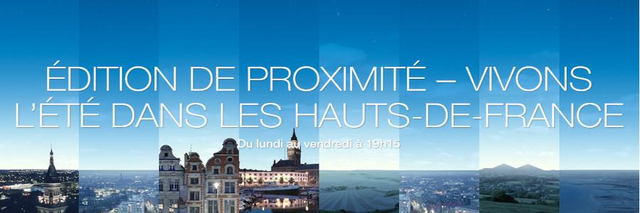 19/20 : Edition de proximité - Vivons l'été dans les Hauts-de-France